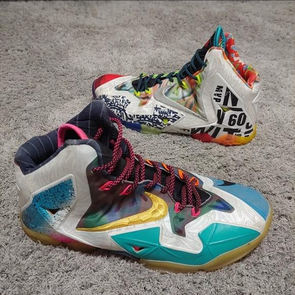 459e8bcc150b8 Nike Lebron 11 XI What The Lebron 650884 400. M 5c1da3c6c89e1d7a57225696